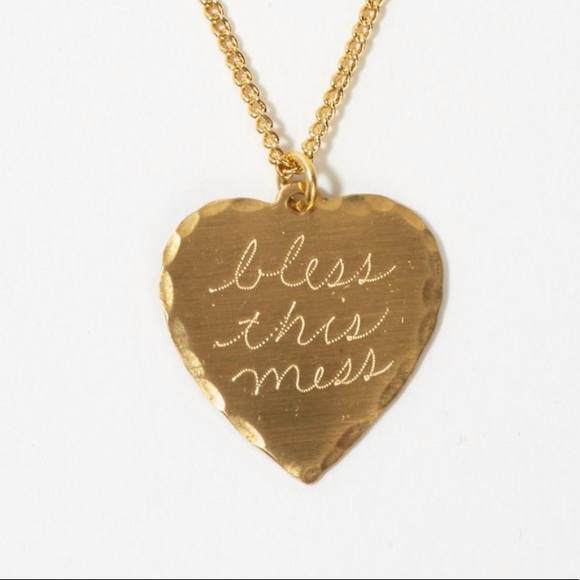 d85b373679bb3b In God We Trust Jewelry | New Bless This Mess Necklace | Poshmark